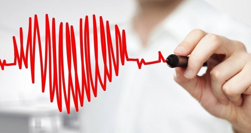 foto de uma desenho de coração