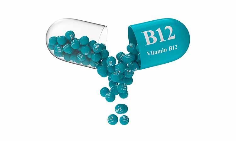 capsula azul de vitamina b12